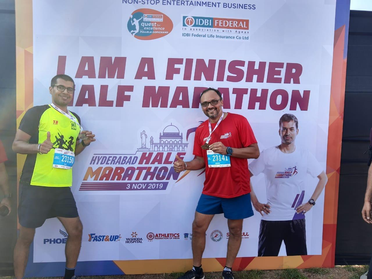 Hyderabad Half Marathon