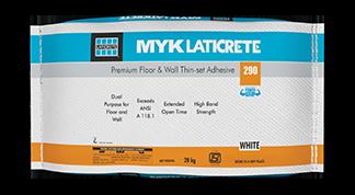 LATICRETE® 290 – MYK LATICRETE – Pioneers in Tile and Stone