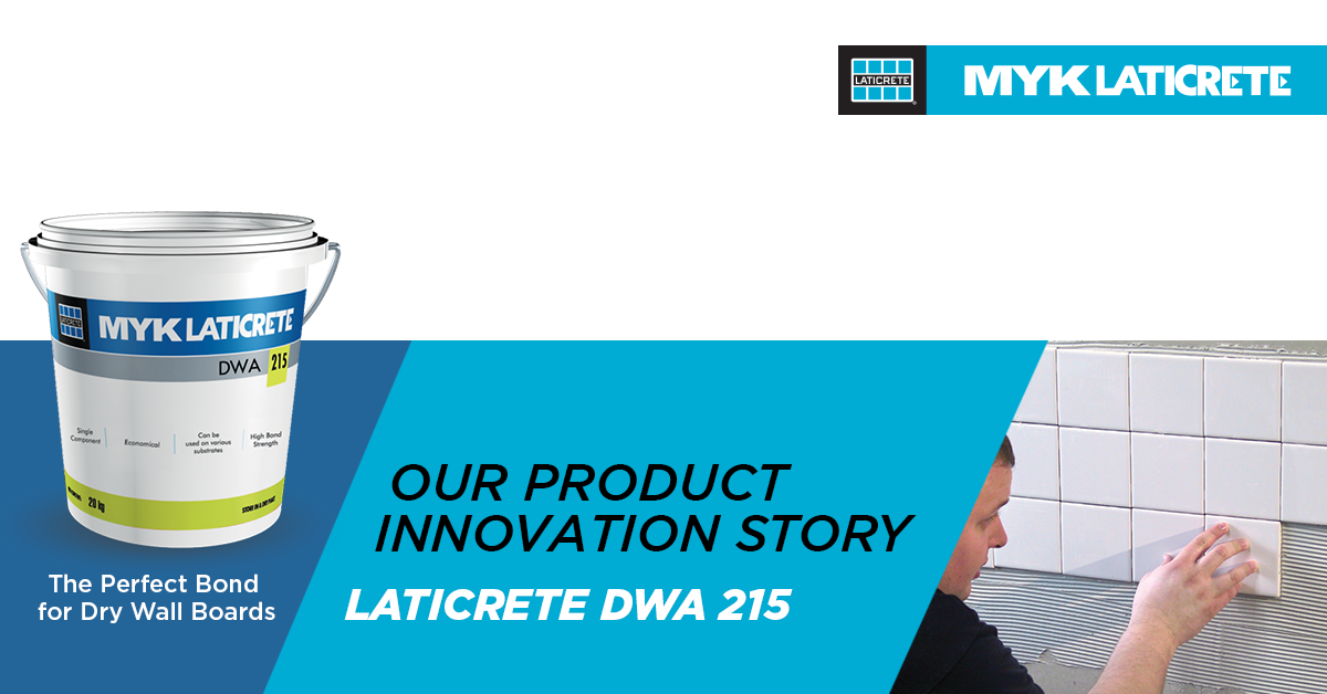 Product Innovation – LATICRETE® DWA 215