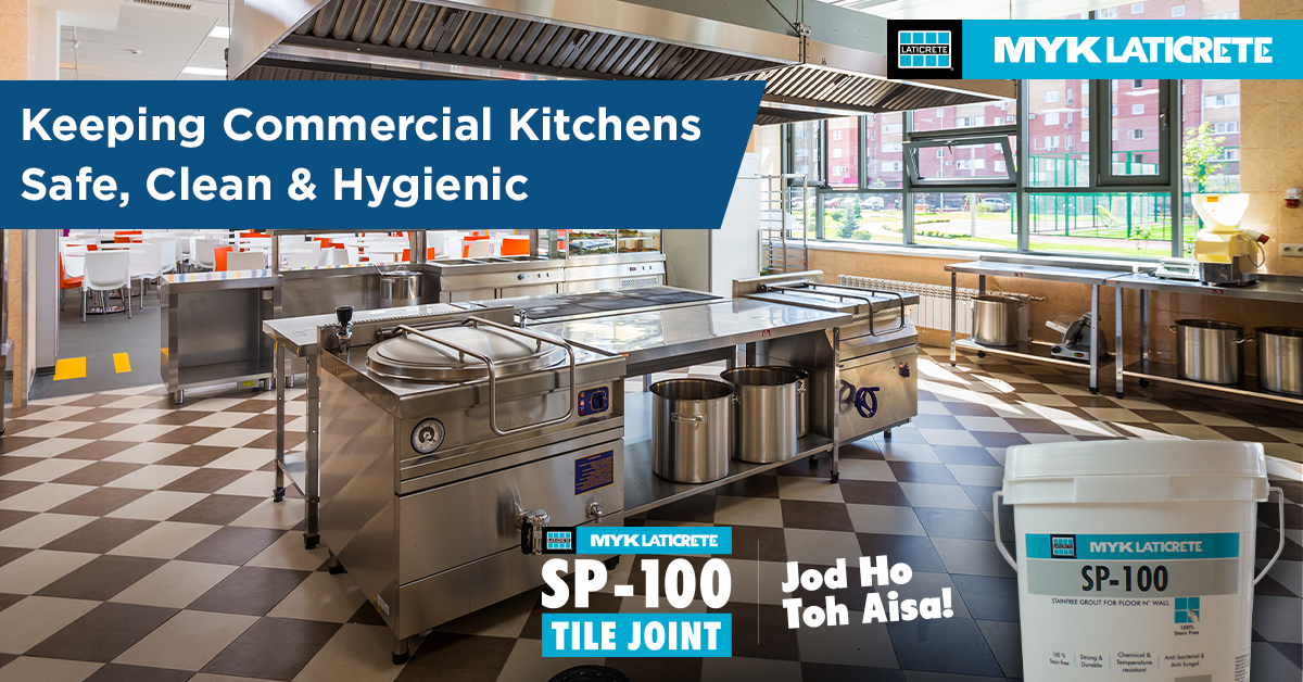 Avoiding Tile Joint Deterioration In Commercial Kitchens With Myk
