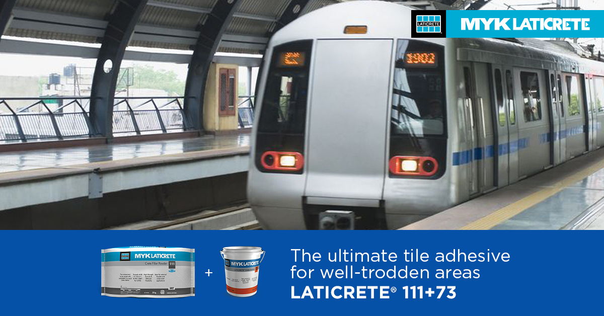 Do Tile Installation Right with LATICRETE® Products: Resilient solutions for High Traffic Areas