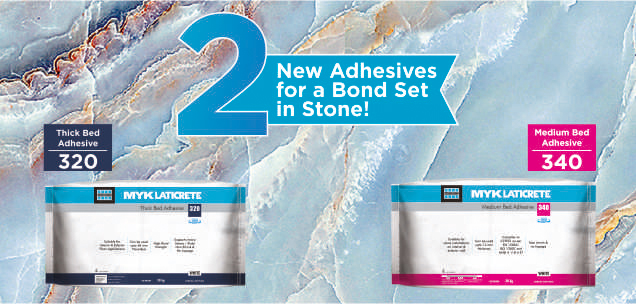 Spectacular Stone Adhesives