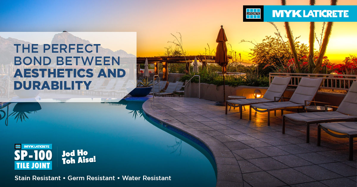 Extending Function and Finesse to Resorts with MYK LATICRETE SP-100 Tile Joint