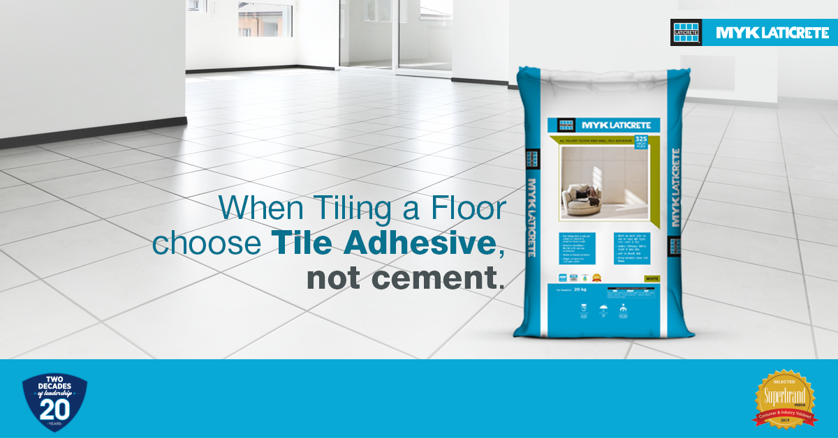 TILE ADHESIVES vs CEMENT