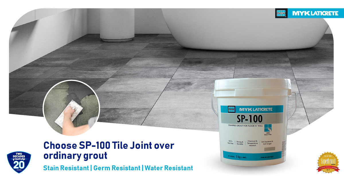 Why choose SP-100 over ordinary grout?