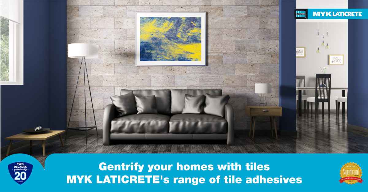 Install tiles on different surfaces with our wide range of tile adhesives – MYK LATICRETE